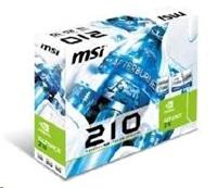 MSI VGA NVIDIA N210-TC1GD3H/LP, GT210, 1024MB DDR3 TC 64bit (512MB on board), Passive