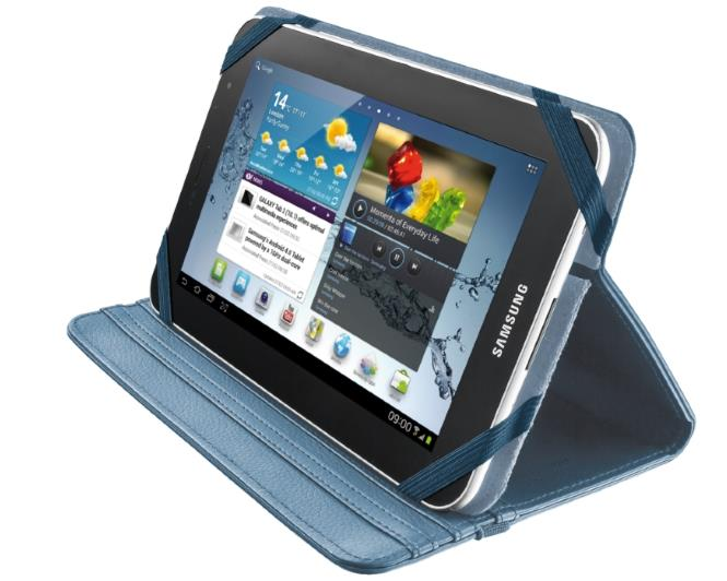 """Trust Verso Universal Folio Stand for 7-8"""" tablets - blue"""