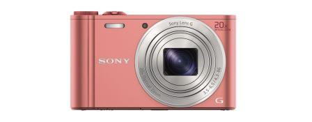 "SONY DSC-WX350 18,2 MP, 20x zoom, 3 "" LCD - PINK"