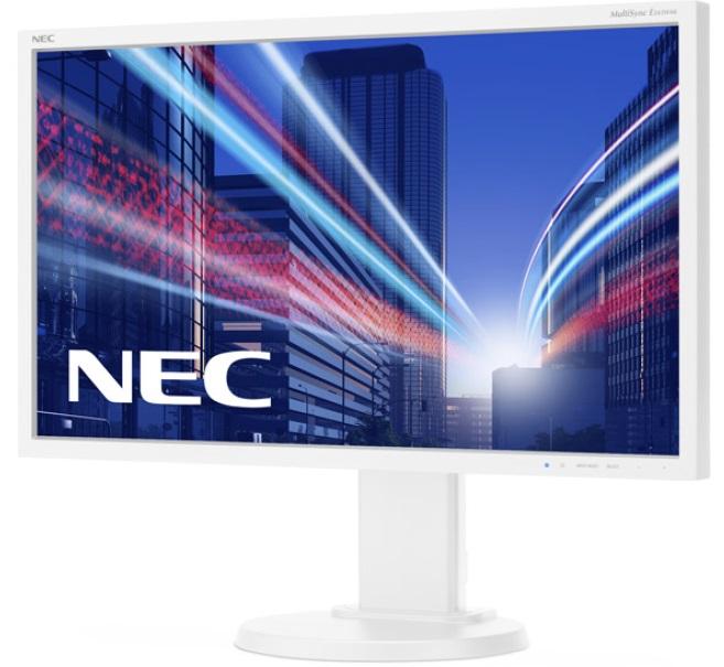 "NEC 24"" E243WMi - 1920x1080, IPS, W-LED, 250cd, D-sub, DVI, DP, Repro, bílý"