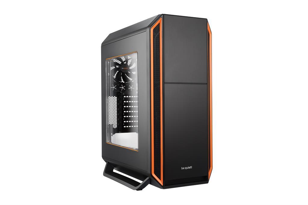 be quiet! Silent Base 800 Window, orange, ATX, micro-ATX, mini-ITX case