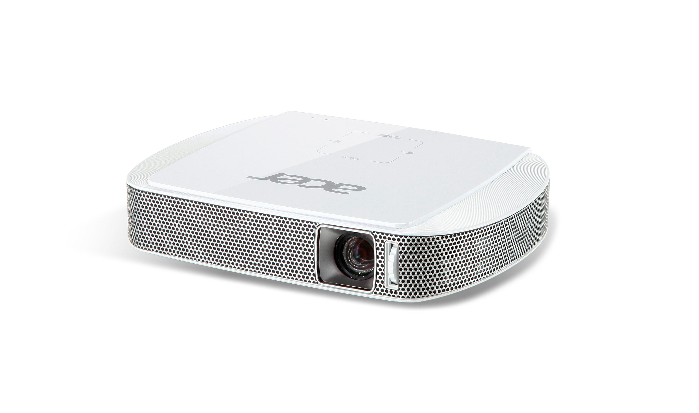 Acer C205 LED, WVGA (854x480), 150 ANSI, 1000:1, HDMI(MHL), USB( typ A), 0.3kg, zabudovaná baterie
