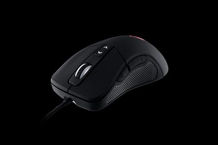 COOLERMASTER STORM laserová myš Mizar, 8200 dpi, černá, USB, 7 tlačítek