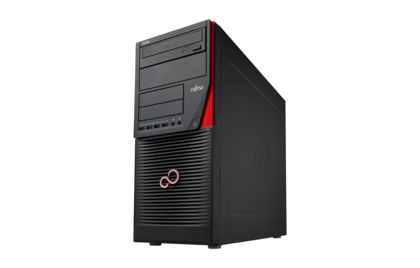 Fujitsu CELSIUS W550/i5-6600/2x8GB DDR4/512GB SSD/RW/KB900+opt. mouse/Win10Pro