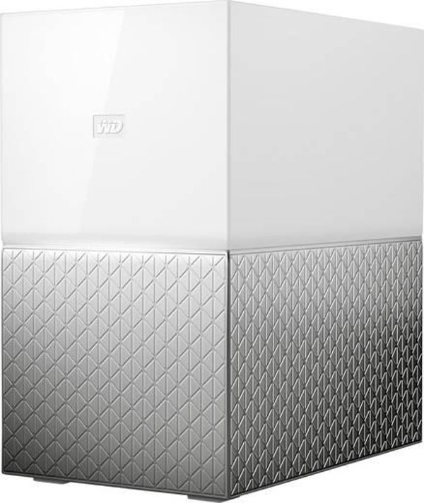 "WD My Cloud HOME DUO 6TB (2x3TB),Ext. 3.5"" RJ45 (GLAN), USB 3.0,NAS"