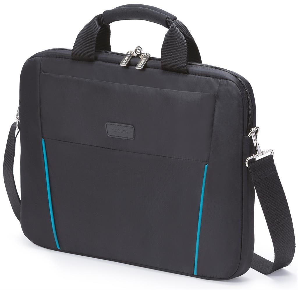 Dicota Slim Case Base 12 - 13.3 černo-modrá brašna na notebook