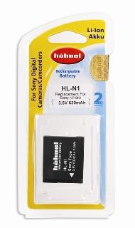 Hähnel HL-N1 Sony NP-BN1 3.6V, 630mAh, 2.3Wh