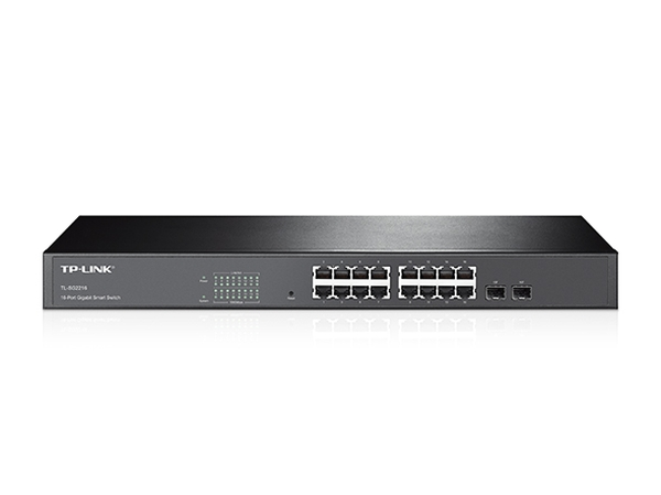 TP-Link TL-SG2216 16-Port Gigabit, Managed/2xSFP Combo