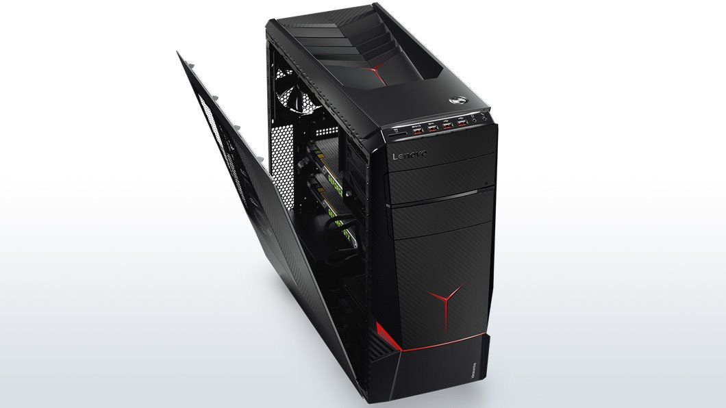 Lenovo IdeaCentre Y900 i5-7600K 4,20GHz/16GB/SSD 128GB + HDD 1TB/GeForce 8GB/DVD-RW/36m ON-SITE/WIN10 90DD00EQMK