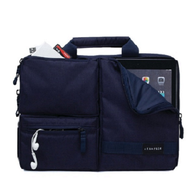 "Crumpler The Geek Deluxe 13"" - dull black"