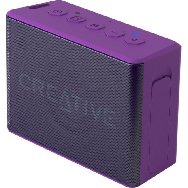 Creative repro Muvo 2C mobilní vodovzdorný bezdrátový reproduktor - fialový
