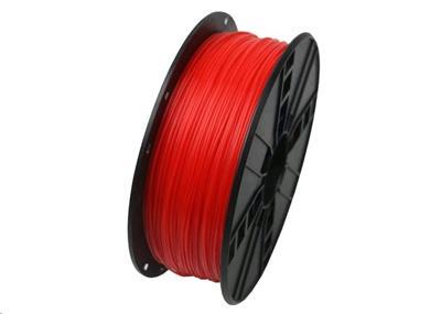 Tisková struna Gembird PLA červená (Fluorescent Red) | 1,75mm | 1kg