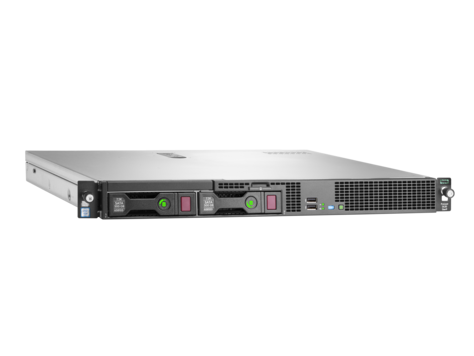 HPE DL20 Gen9 E3-1220v6, 16GB, B140i, NHP
