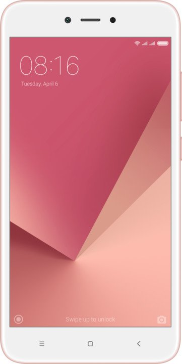 Xiaomi Redmi Note 5A Global Pink/5,5´´ HD/1,4GHz QC/2GB/16GB/SD/2xSIM/13MPx/3080mAh