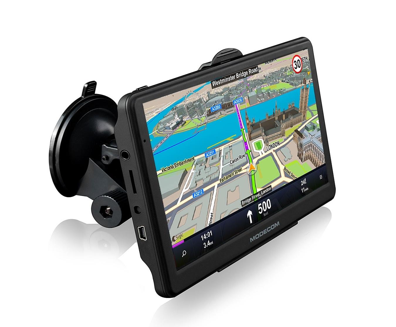 "Modecom FreeWAY SX7.1 GPS navigace, Europe LIFETIME mapy, 7"" displej"