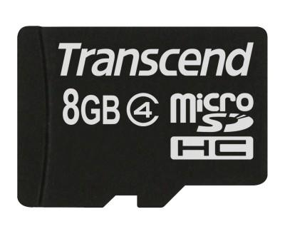 Transcend Micro SDHC karta 8GB Class 4