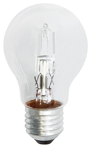 Emos Halogenová žárovka Classic A55, 18W/24W E27, teplá bílá, 205 lm, Classic C