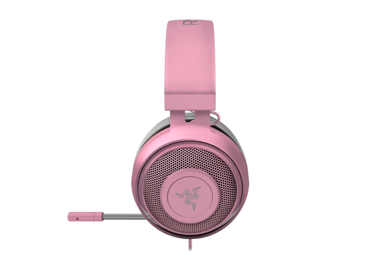 Razer Kraken Pro V2 Quartz Edition, růžové
