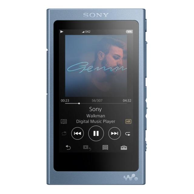 SONY NW-A45HNL Přehrávač Walkman se zvukem s vysokým rozlišením, BLUETOOTH, S-Master HX, včetně sluchátek, 16GB, Blue