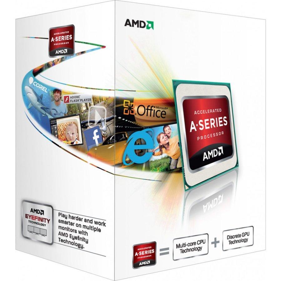 CPU AMD Trinity A4-X2 4020 2core Box (3,2GHz,1MB)