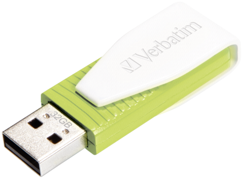 Verbatim Store n Go Swivel 32GB USB 2.0 zelena