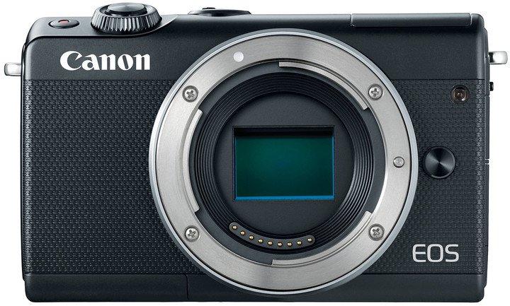 """Canon EOS M100 Body Black, bezzrcadlovka , 24 MP, 3,0"""", WIFI"""