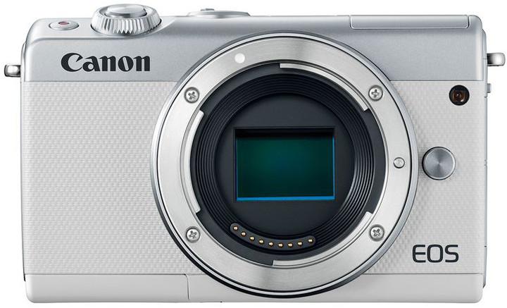 "Canon EOS M100 Body ORION White, bezzrcadlovka , 24 MP, 3,0"", WIFI"