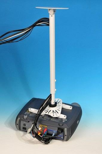 Univerzální stropní držák pro projektory - UCM 2011 - 100/200 bílý