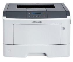 Lexmark MS617dn, mono laser, 1200dpi, 38ppm, 256MB, 800MHz, USB,Duplex,GLan,PP