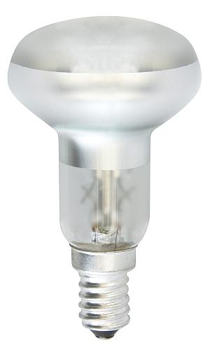 Emos Halogenová žárovka REFLEKTOR R50, 42W/60W E14, teplá bílá, 300 lm, Classic B