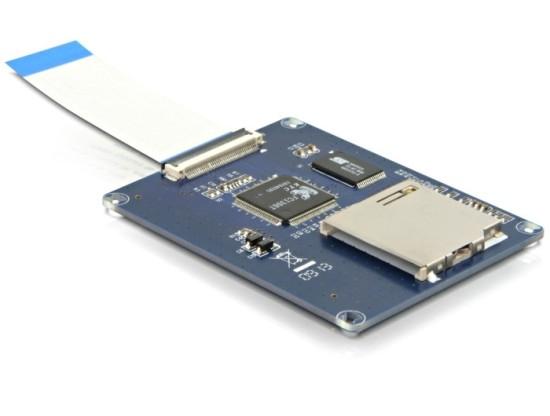 DeLock adaptér SD na ZIF