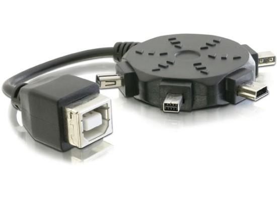 Delock redukce USB A /mini adaptér set