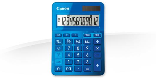 Canon kalkulačka LS-123K modrá