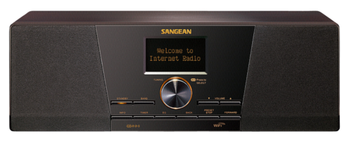 Radiopřijímač Sangean WFR-1 Di orechova