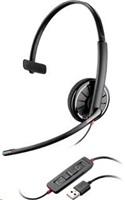PLANTRONICS náhlavní souprava BLACKWIRE C310-M, USB, mono