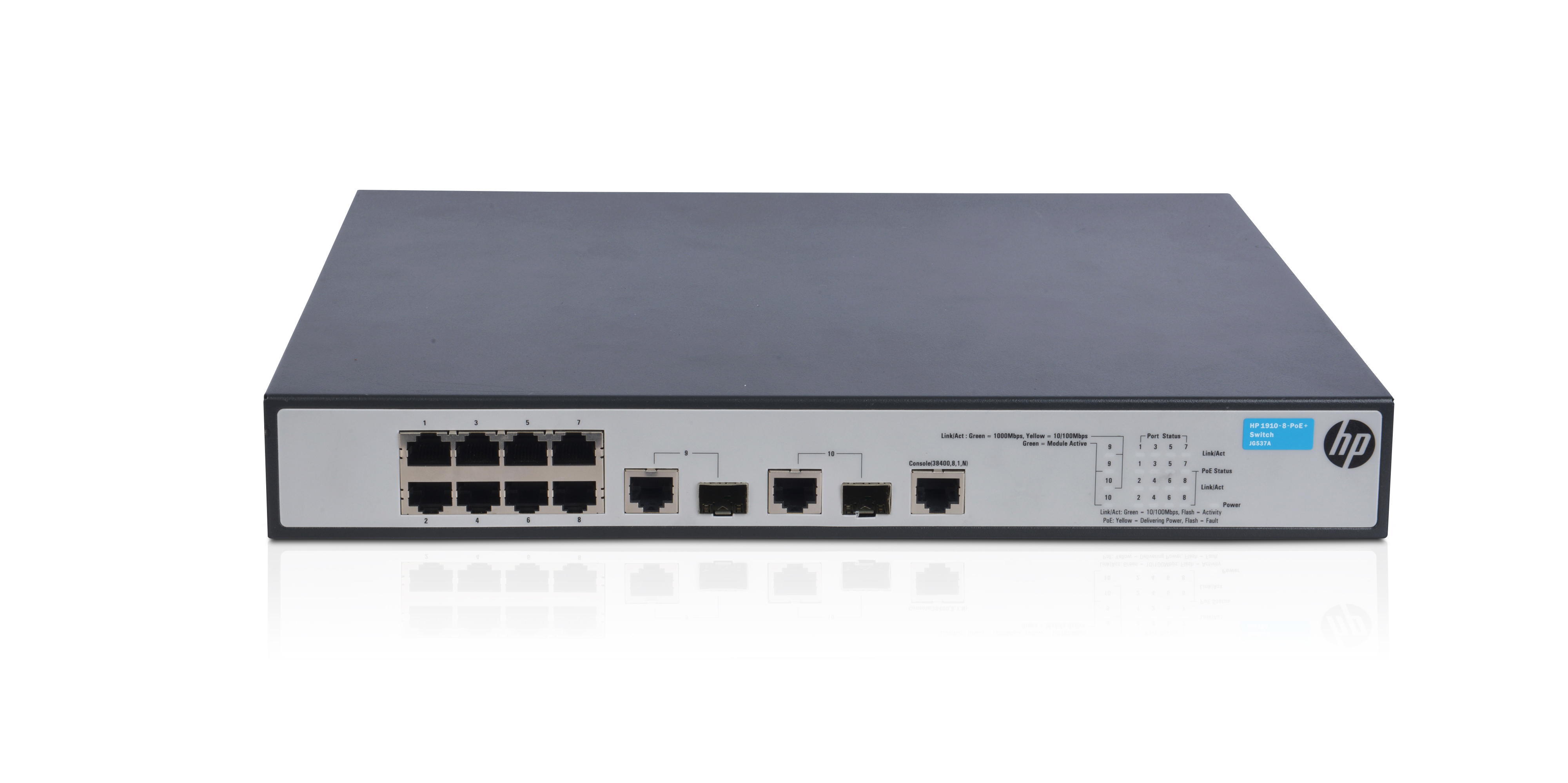 HPE 1910 8 PoE+ Switch