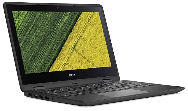"Acer Spin 1 (SP111-31-C5ZR) Celeron N3450/4 GB+N/A/eMMC 32GB+N/HD Graphics /11.6"" FHD IPS dotykový/W10 Home/Black"