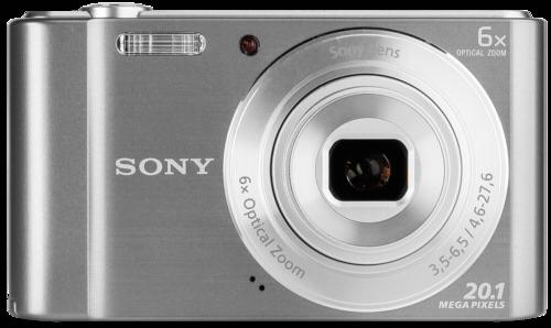Fotoaparát Sony DSC W810S stříbrný