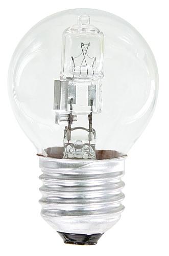 Emos Halogenová žárovka MINI GLOBE, 28W/35W E27, teplá bílá, 370 lm, Classic C