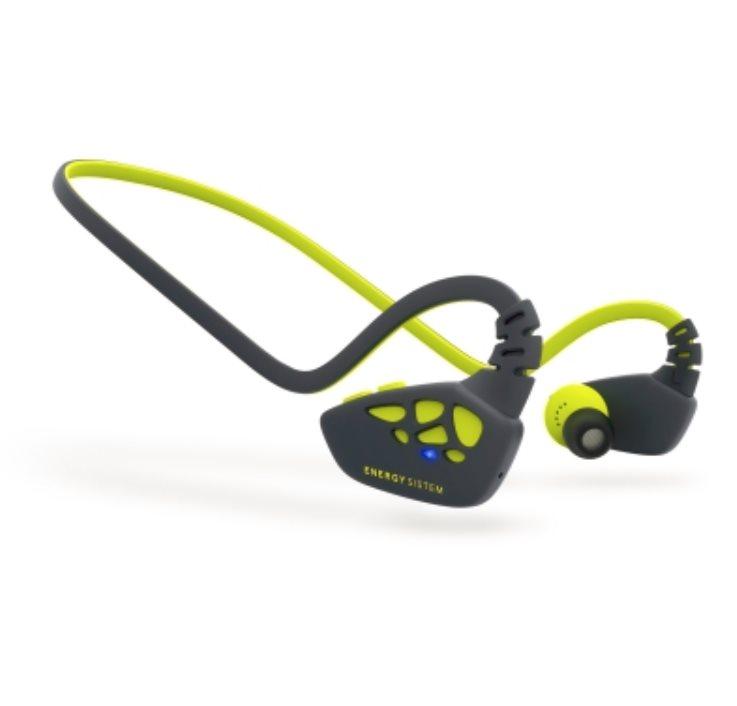 ENERGY Earphones Sport 3 Bluetooth Yellow, Bluetooth sluchátka s mikrofonem