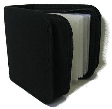 COVER IT pouzdro:48 CD zapínací černé
