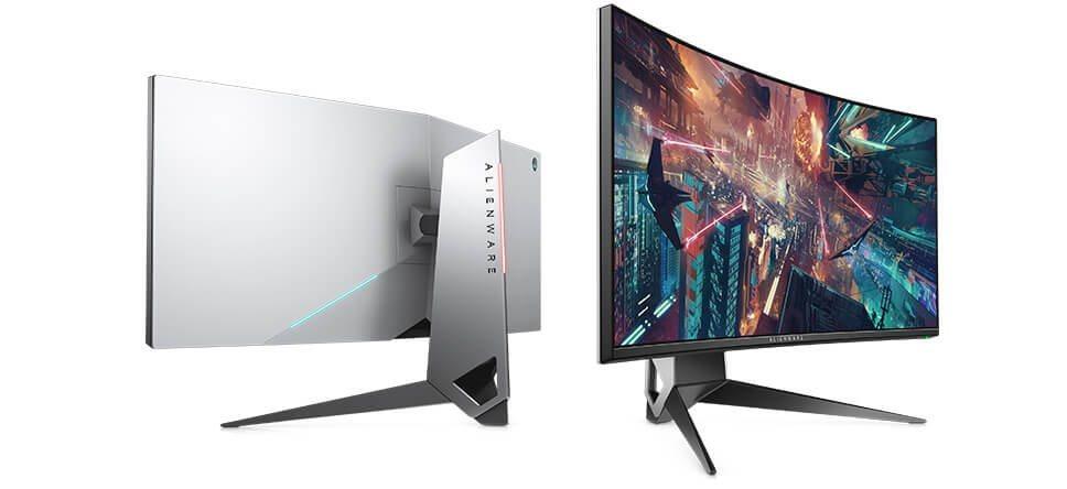 """Dell Alienware AW3418HW/LCD 34""""/6ms/1000:1/(2560 x 1080)/NVIDIA G-SYNC/DP/HDMI/USB/zakřivený/IPS panel/cerny"""