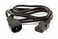 PREMIUMCORD Kabel napájecí 230V prodlužovací 1m