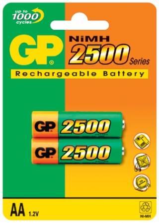 GP AA ReCyko+ 2500 series, nabíjecí, 2 ks