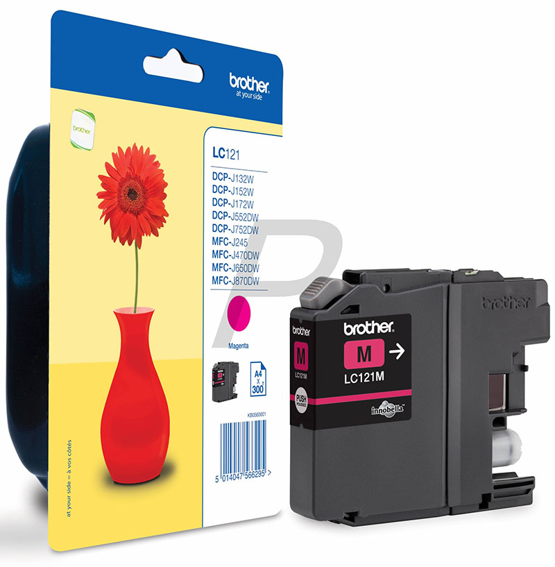 Ink Brother LC121M magenta | DCP-J552DW/MFC-J470DW