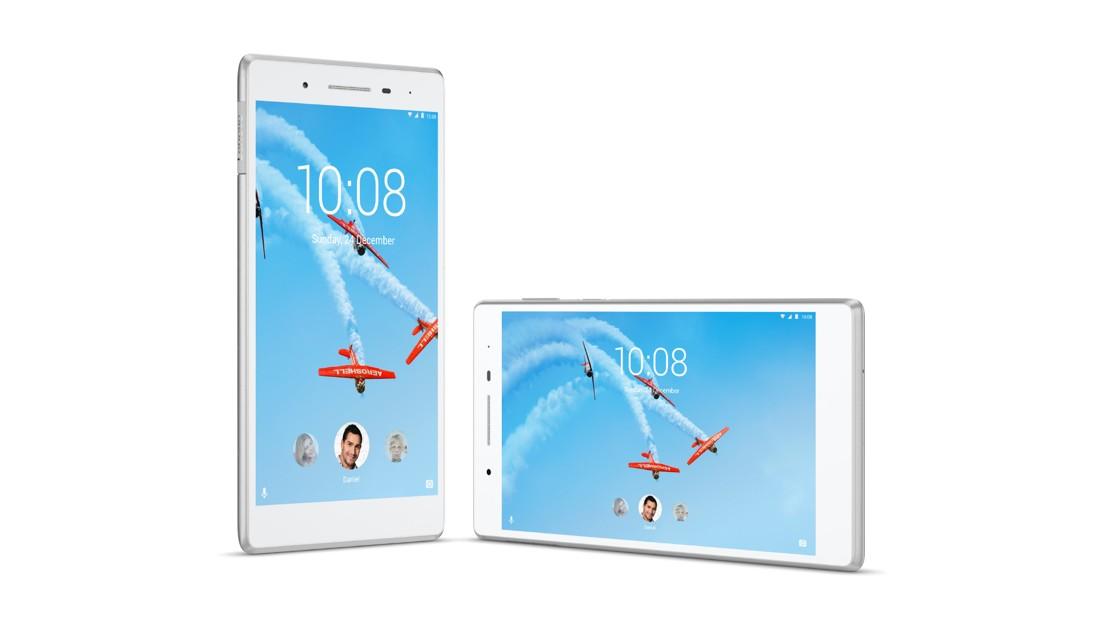 "Lenovo TAB4 7"" LTE QC MT8735B 1,30GHz/2GB/16GB/7"" HD/IPS/multitouch/LTE/Android 7 bílá ZA380133CZ"