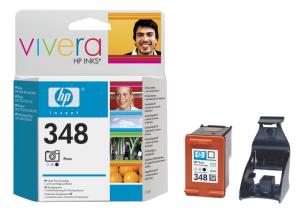 HP no. 348 - 3barevná ink. fotokazeta, C9369EE