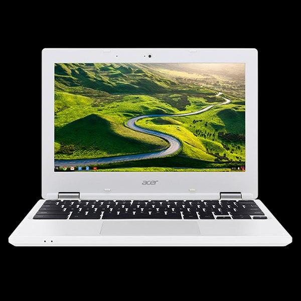 "Acer Chromebook11 (CB3-132-C3XJ) Celeron N3160/4GB/eMMC32GB+N/HD Graphics/11.6"" HD matný/Google Chrome/White"