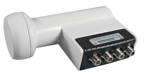 Emos LNB konvertor Inverto Quad (4 výstupy), přímý