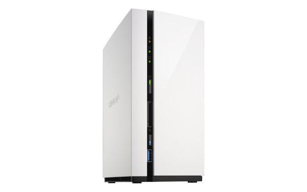 QNAP TS-228A Turbo NAS server, 1,4 GHz QC/4GB/2xHDD/1xGL/USB 3.0/Raid 0,1